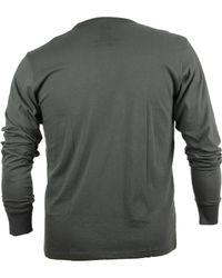 47 Brand - Gray Men's Long-sleeve New York Knicks Flanker T-shirt for Men - Lyst