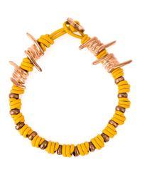 Vivienne Westwood | Yellow Wire Detail Bracelet | Lyst