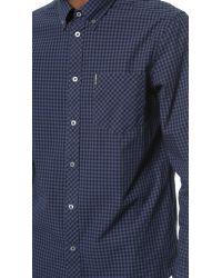 Ben Sherman - Blue Gingham Shirt for Men - Lyst