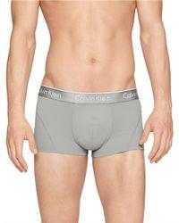 Calvin Klein - Gray Air Fx Low Rise Trunks for Men - Lyst