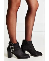 Jeffrey Campbell - Black Rayburn Buckle Boot - Lyst