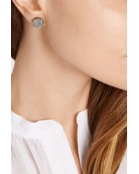 Melissa Joy Manning - Metallic 14-karat Gold Druzy Earrings - Lyst