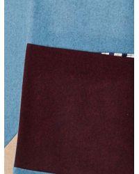 ROKSANDA - Blue Larkin Tri-Colour Felted-Wool Coat - Lyst