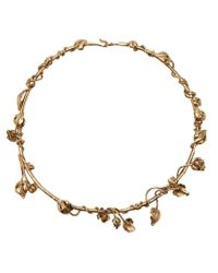 Aurelie Bidermann | Metallic 'majorelle Gardens' Necklace | Lyst