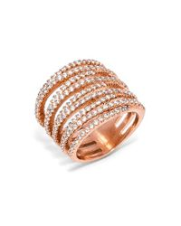 BaubleBar - Pink 'ice Twister' Ring - Lyst