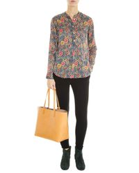 Étoile Isabel Marant - Multicolor Silena Printed Crepe Blouse - Lyst