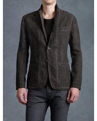 John Varvatos | Brown Cold Water Notch Lapel Jacket for Men | Lyst