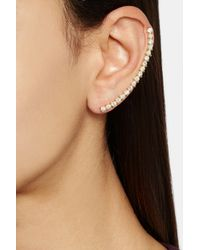 Ana Khouri - Metallic Isabel 18karat Gold Diamond Ear Cuff - Lyst