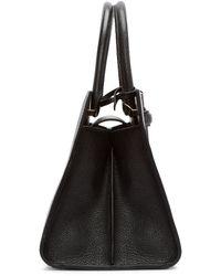 Loewe - Black Barcelona Leather Tote Bag - Lyst