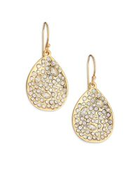 Alexis Bittar | Metallic Miss Havisham Crystal Teardrop Earrings | Lyst
