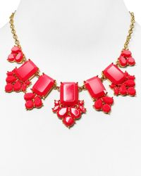 """kate spade new york - Pink Daylight Jewels Necklace, 17"""" - Lyst"""