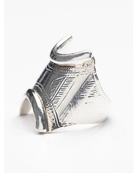Free People | Metallic Mhart Womens Tassendert Ring | Lyst