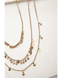 Forever 21 | Metallic Circle Charm Necklace Set | Lyst