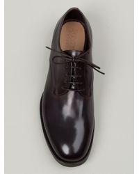 Silvano Sassetti - Brown Derby Shoe for Men - Lyst