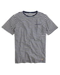 J.Crew | Blue Armor-lux Striped T-shirt for Men | Lyst