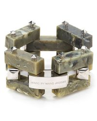 Marc By Marc Jacobs | Green Chunky Link Bracelet | Lyst