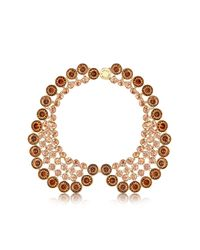 Louis Vuitton | Metallic Over The Rainbow Peach Crew Necklace | Lyst