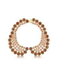 Louis Vuitton | Metallic Over The Rainbow Peach Crew Necklace | Lyst