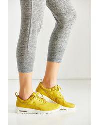 Nike - Yellow Air Max Thea Premium Sneaker - Lyst
