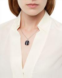 Jaeger - Blue Lola Rose Bassa Necklace - Lyst