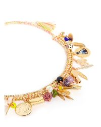 Venessa Arizaga | Multicolor 'teepee Time' Necklace | Lyst