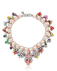 Shourouk - Multicolor Marisa Jumble Necklace - Lyst