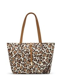 Vince Camuto | Natural 'small Leila' Nylon Tote | Lyst