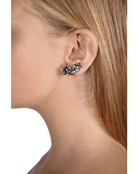 Dorothee Schumacher - Metallic Crystal Edge Ear Cuffs Small - Lyst