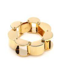 Lele Sadoughi | Metallic Hourglass Bracelet | Lyst