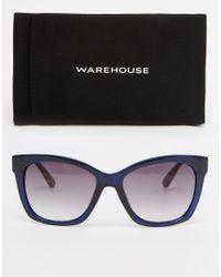 Warehouse | Blue Contrast D Frame | Lyst