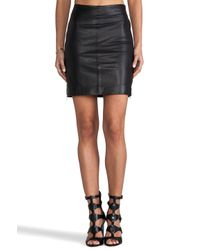 Muubaa - Dani Pencil Skirt in Black - Lyst