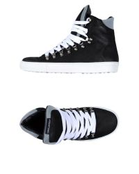 DSquared² | Black High-Tops & Trainers for Men | Lyst