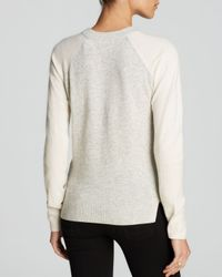 Rebecca Taylor - Natural Sweater - Geo Shimmer - Lyst