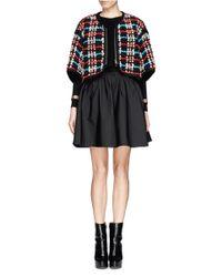 Chloé   Black Chain Wrist Cashmere Sweater   Lyst