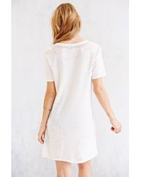 Truly Madly Deeply - White Burnout Tee - Lyst