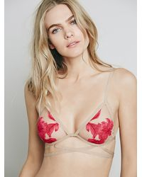 Free People | Natural Skivvies By For Love & Lemons Womens Orchid Bondage Bralette | Lyst