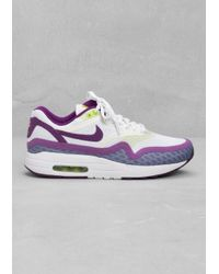 new arrival 8000a d2491 Other Stories. Womens Purple Nike Air Max 1 Breeze