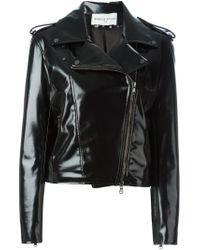 Wanda Nylon | Black Biker Jacket | Lyst