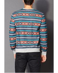 Forever 21 | Blue Desert Days Sweatshirt for Men | Lyst