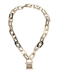 DSquared² - Metallic Necklace - Lyst