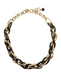 Ashley Pittman - Metallic Ndovu Dark Horn & Bronze Necklace - Lyst