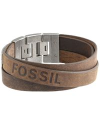 Fossil | Brown Multi Wrap | Lyst