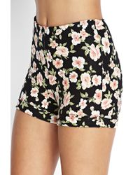 Forever 21 - Multicolor Floral Mini Skirt - Lyst