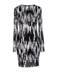 MICHAEL Michael Kors - Black Short Dress - Lyst