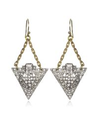 Lulu Frost | Metallic Beachbreak Earrings | Lyst