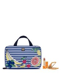 Tory Burch | Multicolor Printed Nylon Hanging Zip Cosmetic Case | Lyst