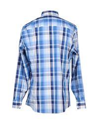 Dirk Bikkembergs - Blue Shirt for Men - Lyst