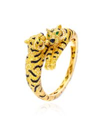 Fd Gallery | Multicolor Oneofakind Cartier Tiger Bracelet | Lyst