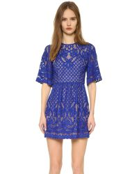 BCBGMAXAZRIA | Blue Jillyan Dress | Lyst