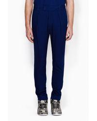 3.1 Phillip Lim - Blue Saddle Fit Pant for Men - Lyst